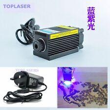 Focusable 500mw 405nm Violet Blue Laser Dot Module Mini Engraving Cutting Lasers