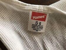 Hanes Vintage USA made tank top Ribbed Small new No tags NWOT