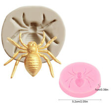 Spider Shape Silicone Fondant Mold Jewelry Resin Decor Kitchen Tool Baking Molds