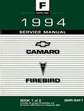 1994 Camaro Firebird Shop Service Repair Manual