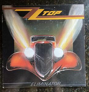 Eliminator [LP] by ZZ Top (Vinyl, Warner Bros. Records Record Label) 1983