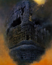 Zdzislaw Beksinski canvas print giclee 16.5X11.7 reproduction art poster