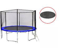 Sb-400-bw simple Jump jardín-cama elástica red, director, anclajes y lona de protección, 180kg