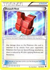 4x Pokemon XY BREAKthrough Assault Vest 133/162 Uncommon Card