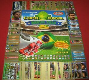 Capri Navarrete World Cup 2014 Brasil Stickers Empty Album + Complete Set