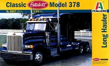 ITALERI 1:24 KIT CAMION CLASSIC PETERBILT MODEL 378 LONG HAULER ART 3857