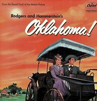OKLAHOMA! Rodgers and Hammerstein Soundtrack Vinyl 33 rpm LP Capitol LCT6100 DA