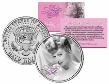 "Lucille Ball ""I Love Lucy Elegant"" JFK Kennedy Half Dollar US Coin *Licensed*"