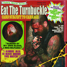 EAT THE TURNBUCKLE -CD- Card Subject To Carnage (Call The Parametics)