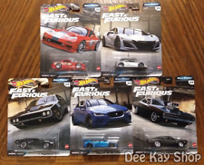 Fast & Furious Full Force Complete Set of 5 - Hot Wheels Premium (2020)