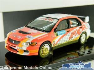 MITSUBISHI LANCER EVO MODEL RALLY CAR 1:43 SCALE 2008 IXO PROKOP SWEDEN 319 K8