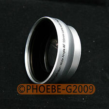 Silver 55mm 0.45x MC WIDE Angle LENS /with Macro filter