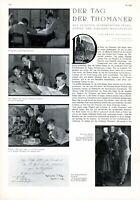 Thomanerchor Leipzig Bericht von 1932 mit 2 XL Seiten 10 Abb. Knabenchor Chor