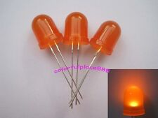 20pcs 10mm Orange Diffused Round Top Bright Led 5k Mcd Leds Lamp Lights R