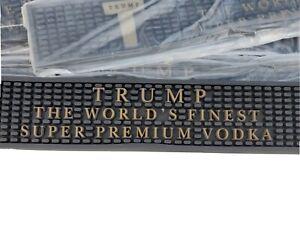 Trump Vodka Bar Rail Spill Mat *Rare* *New*