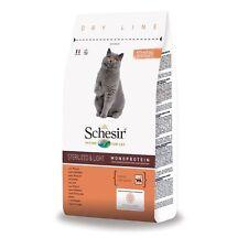SCHESIR CAT Sterilizzati Light al Pollo Kg.1,5 Gatti castrati Croccantini Adulti
