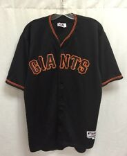 Authentic San Francisco Giants Barry Bonds Majestic MLB Authentic Jersey Sz 52