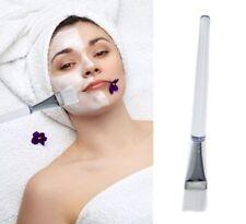 1X white Handle Facial Face Skin Care Mud DIY Masks pink Applicator Mixing Brush