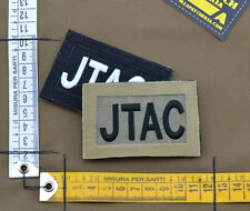 """Ricamata / Embroidered Patch Reversible """"JTAC"""" with VELCRO® brand hook"""