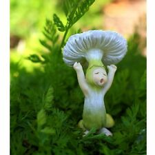 Miniature Fairy Garden Shroom Baby Yawning Dollhouse Gnome Hobbit Garden TO 4259
