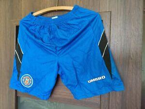 Manchester United vintage umbro 1996-1997 3rd away football shorts Medium M