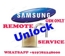 Samsung Galaxy SM-J327W SM-J727A SM-J727AZ Remote Unlock code Service