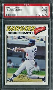1977 Topps #345 Reggie Smith PSA 9 Mint!