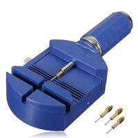 Stiftausdruecker Armbandkuerzer Blau fuer Uhrenarmband +3 Stifte GY S2V0 S2 V8U7