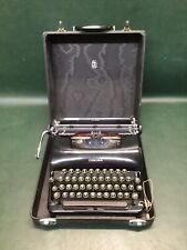 Vintage Smith Corona Silent Typewriter Black in Case #2S63322