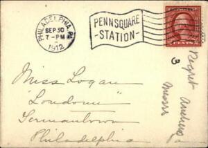 1912 Philadelphia Pennsylvania (PA) Envelope