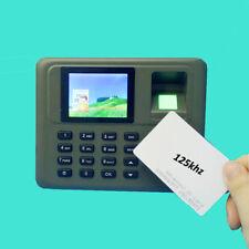 Tcp/ip Fingerprint & Rfid card attendance System Employee Fingerprint Time Clock