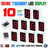 HP 5082-7651 11mm red CA 7segment display Lot-7pcs