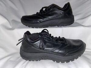 Men's Brooks Dyad Walker 10 Medium D  Black Leather