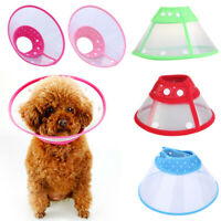 Dog Cat Comfy Cone Collar Pet Bathing After Surgery Anti-Bite Protector Cover