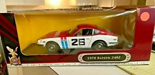Yatming  Datsun 240Z Hard Top 1970 1/18 scale diecast model car RARE #26 RED/WH