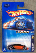 Hot Wheels ~ 2005 First Editions ~ Torpedoes ~ Itso-Skeenie ~ Black