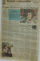 A lonely life Ends on Elvis Presley Boulevard Memphos Press-Scimitar Newspaper