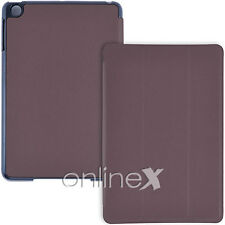 Funda para iPad MINI IMÁN SMART COVER MARRON Piel Pu a837
