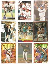 (9) 1996 University of Nevada Las Vegas Runnin Rebels Alumni Cards UNLV Fielder
