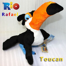 Rio The Movie Plush Toy Character Rafael Macaw Toucan Bird Stuffed Animal Doll