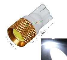 T10 194 168 W5W 1.5W LED SMD Blanc brillant haute puissance 1.5W Ampoule LED HID