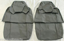TOYOTA LANDCRUISER 70 SERIES SEAT COVERS FRONT CANVAS WAGON TROOPY FROM AUG 16>