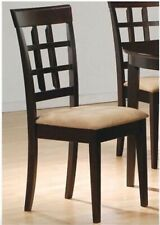 Dining Chairs - Wood - Set of 2