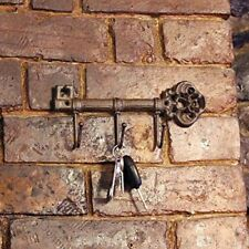 Vintage Antique Style Key Hook Rustic Cast Iron Key Holder Wall Hanging Rack New