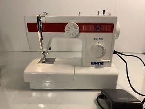 Used WHITE Sew Easy Sewing Machine Model 2335  Works