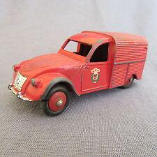 333E Dinky 25D Citroën 2cv Fourgonnette Pompiers 1:43