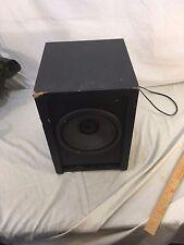 Polk Audio Black Subwoofer RM 6750 Black Wall Plug In SUBWOOFER ONLY 32284