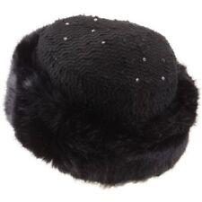 Gorras y sombreros de mujer de acrílico color principal negro
