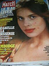 Paris Match N° 1587 26 octobre 1979 Nastassia Kinski Da Gaulle à la Boisserie