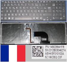 Teclado Azerty Francés SONY VAIO SVE15 SVE-15 EVS AEHK5F010103A 9Z.N6CBQ.C0F